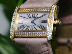 Cartier - Tank Divan Diamanten  - 2601 - Dames - 2000-2010