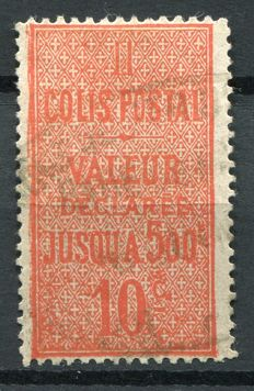 France 1938/54 - Small collection of stamps for postal packages