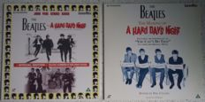 "Lot of 2 The Beatles Laserdiscs - ""A Hard Day's Night"" & ""The Making Of A Hard Day's Night"""