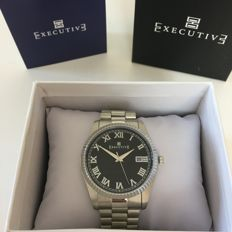 Executive – Parka Quartz Analogue With Date – New with box