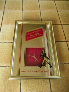 Johnnie Walker framed wall clock - USA