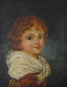 North European school (18th/19th century) - Portrait of a boy.