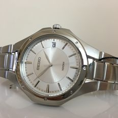 SEIKO – Men's Quartz Analogue With Date – New with box