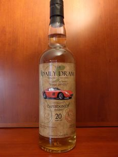Caperdonich 20 years old by The Daily Dram - Ferrari 250 GTO.