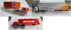 Ixo-Altaya - Scale 1/43 - Lot with 3 models: Saviem SM 8 T 1967-1975, Saviem JM 200 1964-1968 and Renault G340 1990-1996