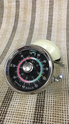 1950s-1960s Dynometer brake and acceleration meter