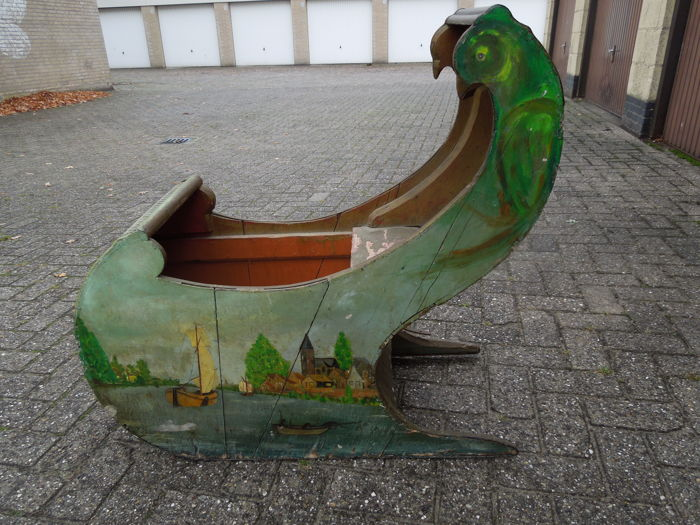 Beautiful wooden sled