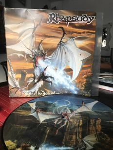Rhapsody - Power Of The Dragon Flame - 2 Vinyl - 33 Rpm - 4 Side - Very Beautiful Vinyl, Limited Edition, Only 5000 Copies Worldwide