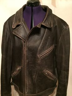 Beautiful leather motorcycle jacket - Hein Gericke