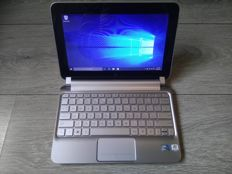 HP Mini 201 Subnotebook - Intel Atom 1.66Ghz, 2GB DDR3 RAM, 320GB HDD, Windows 10 - with charger