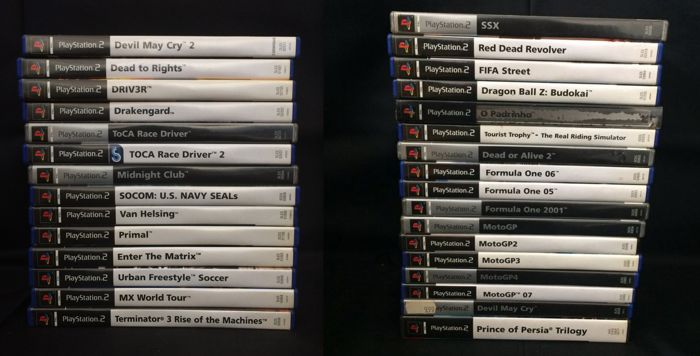 34 Playstation 2 Games in Original Cases and with Original Manuals
