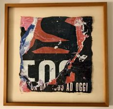 Mimmo Rotella - De collage