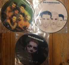 Three albums of Rammstein || All picture discs || Sealed ||