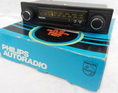 Philips - 1970s/1980s Philips vintage radio, type AN 192/85S, entirely complete in original box