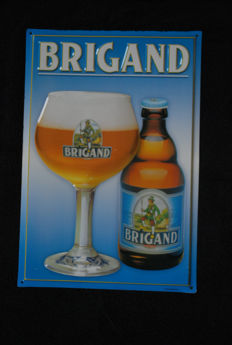 Brigand advertising sign relief - 2nd half 20th century