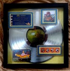 The Beatles - Yellow Submarine (1966) Platinum Award