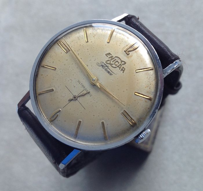 ENICAR Florence Ultrasonic - men's wristwatch - vintage 50's