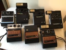 Lot of 7 Kodak instant cameras