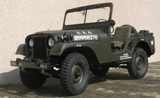 Jeep 1953 U. S. Army M38-A1  Frame-Off Restoration