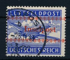 German Reich – 1944 – field post approval stamp, Michel 7A