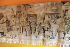 Charles Dickens Scenery  Wall Cloth, gobelin