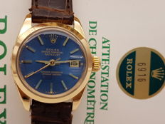 Rolex - Datejust 6916 - 18 kt GOLD, FULL SET, 1970s - Women's - 1970-1979
