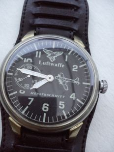 Luftwaffe Messerschmitt - WWII mens watch