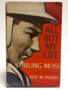 Stirling Moss (1929-) - All But My Life - SIGNED EDITION