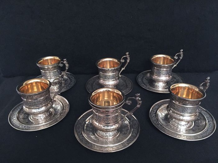 Coffee set Braganti Antonio Florence 20th century
