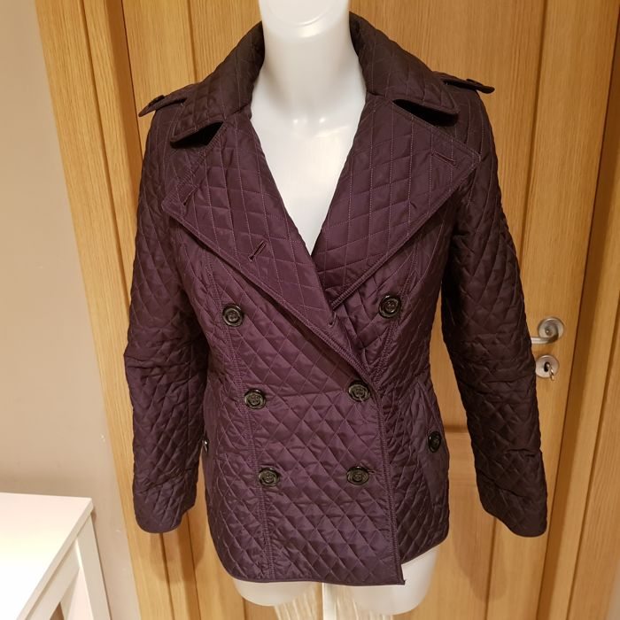 Burberry - Double-breasted Quilted Jacket