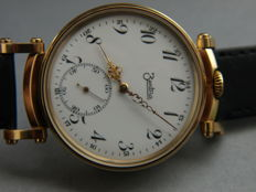 05. ZentRa men's marriage wristwatch ca. 1930