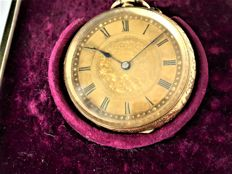 pocket watch circa 1890s {ref no 196}
