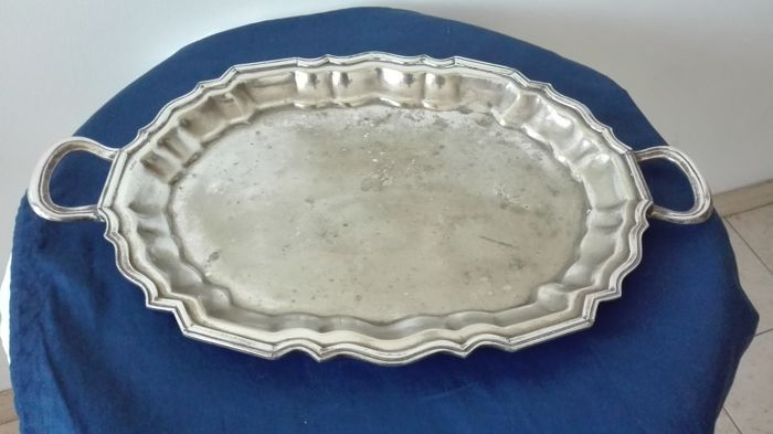 58aaf5bc7d Elegant old tray with handles