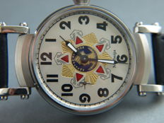 26. Molnija marriage wristwatch with CCCP theme 1970-75