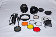 Topcon accessories, Vivitar and Sony lens