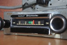 Becker Brecia classic car radio from 1969