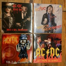 Great AC/DC Collection || Live Recordings || 4x LP || Limited editions on colored vinyl