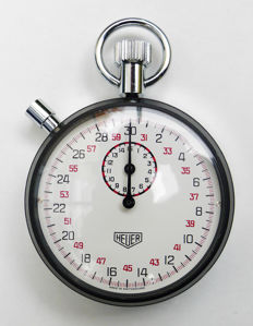 Heuer stop watch rally timer 70s with original packaging