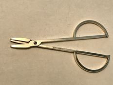 Silver plated grape scissors from Christofle