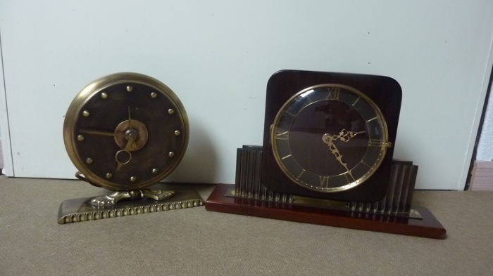 Two table clocks - Period 1920/30