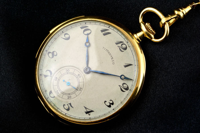Amazing Patek Philippe pocket watch retailed by Tiffany & Co Geneva - minute repeater - ca 1900