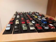 Starline - Scale 1/43 - Lot of 76 models of Italian cars: Fiat, Alfa Romeo, Lancia
