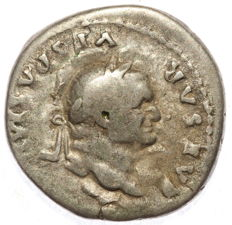 Roman Empire - AR denarius  - Vespasian - Annona - 18mm 2,76 g