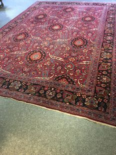 Stunning hand-knotted original Persian XL TABRIZ with plant-based colours!! Approx. 260 x 360 - in good condition - free, fast shipping to EU.