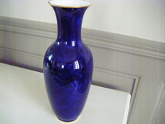 Sèvres - Large blue porcelain vase