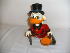 Disney, Walt - Figure - Scrooge McDuck with suitcase (1980s)