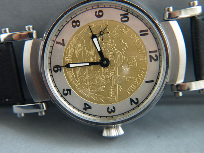 33. Molnija Medal Watch marriage wristwatch between 1970-75