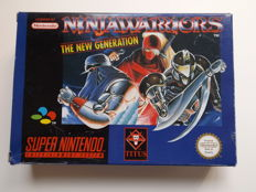 Super Nintendo - Ninja Warriors The New Generation boxed