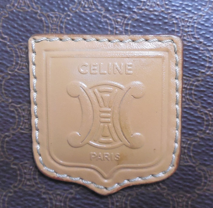 Céline - Macadam Boston handbag overnight bag d1e8a02df7e