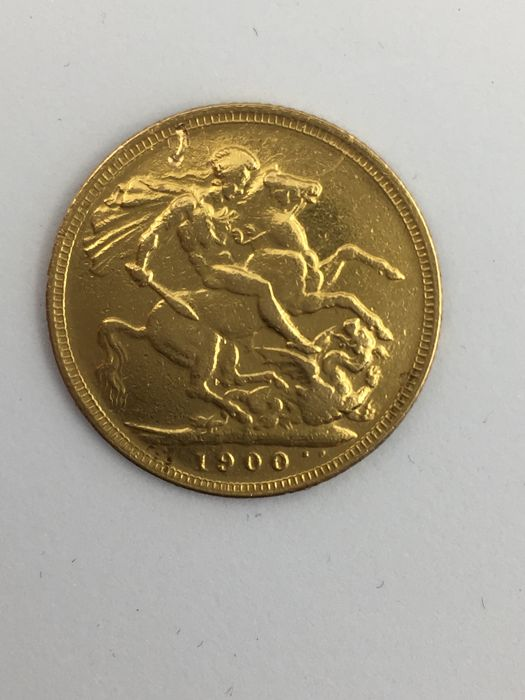 Great Britain - Sovereign - Victoria 1900 - Gold